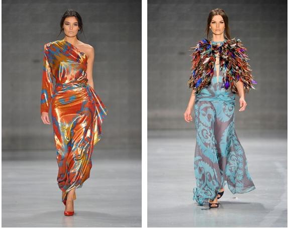 Mercedes-Benz Fashion Week Istanbul, Oktober 2014 präsentiert - Atil Kutoglu, für Sie - HW14