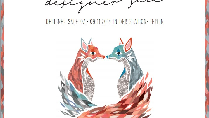 Fashion News 2014 – Designer Sale from 7-9 November at the STATION-Berlin