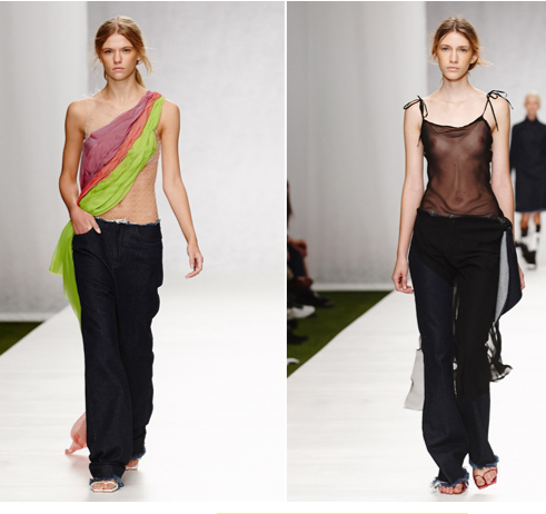 London Fashion Week, September 2014 präsentiert– Marques' Almeida, für Sie - SS14