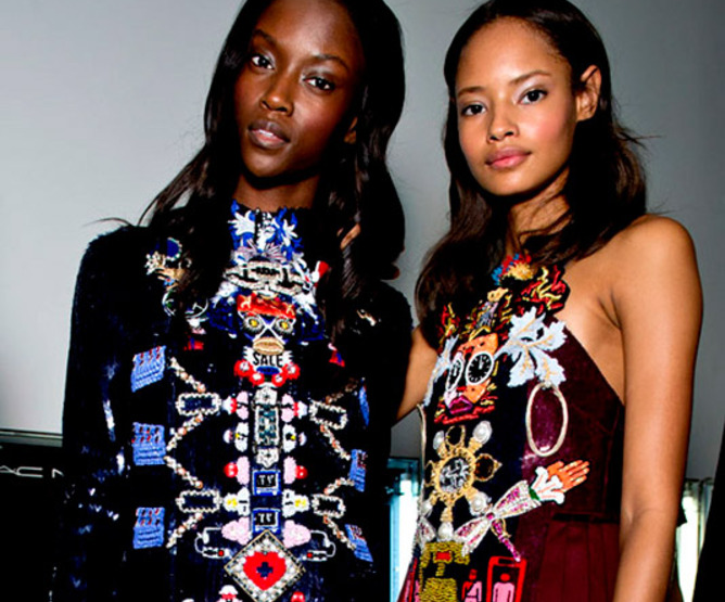 London Fashion Week September 2014 präsentiert – Mary Katrantzou, für Sie - HW14 & FS15