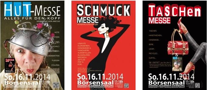 Hut|Schmuck|Taschen-Messe am 16.11.2014 in Hamburg