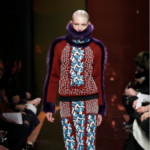 London Fashion Week, September 2014 präsentiert – Peter Pilotto, für Sie - HW15 & Pre-Spring15