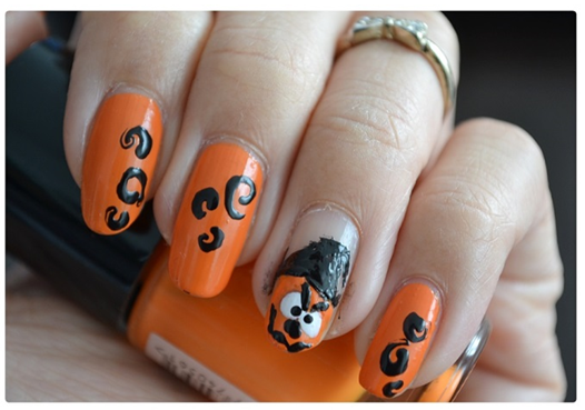 Manicure Monday | Halloween Edition #PumpkinJoy