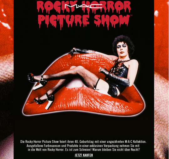 HOT or NOT | MAC Rocky Horror Picture Show Limited Edition - eine schaurig schöne Kollektion!