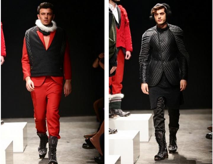 Mercedes-Benz Fashion Week Istanbul, Oktober 2014 präsentiert – Safak Tokur, für Ihn - HW14