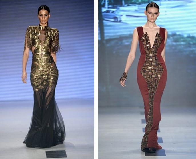 Mercedes-Benz Fashion Week Istanbul, Oktober 2014 präsentiert – Raisa-Vanessa Sason, für Sie - HW14