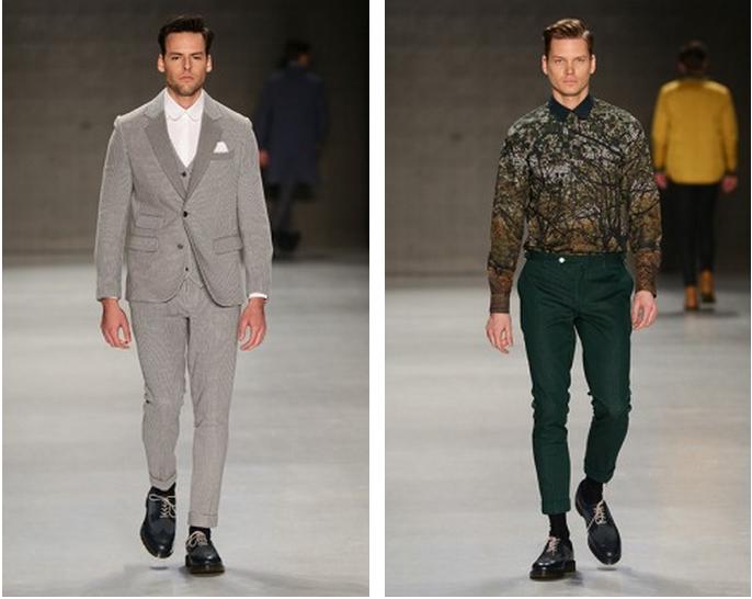 Mercedes-Benz Fashion Week Istanbul, Oktober 2014 präsentiert – Serdar Uzuntas, für Ihn - HW14