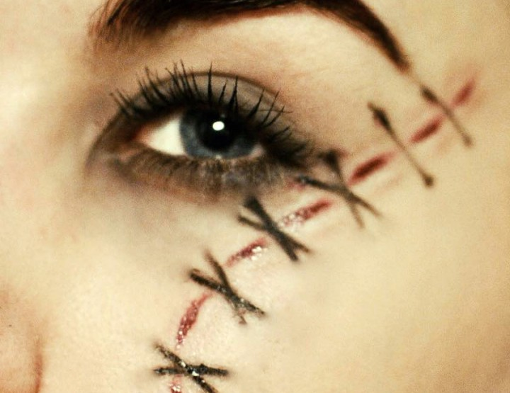 Styling and Beauty Tip Berlin | Halloween Makeup: Stitched Wound