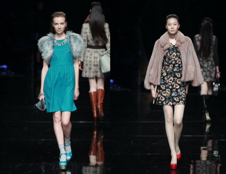 Mercedes-Benz China Fashion Week, October/November 2014 presents -  Artis, for her FW 14/15