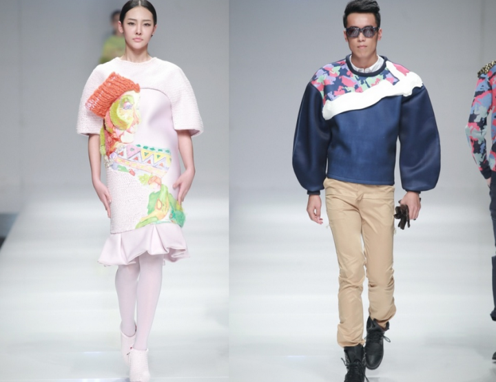 Mercedes-Benz China Fashion Week, Oktober/November 2014 präsentiert – Beijing Institute of Fashion Technology/Shih Chien University, für Sie & Ihn