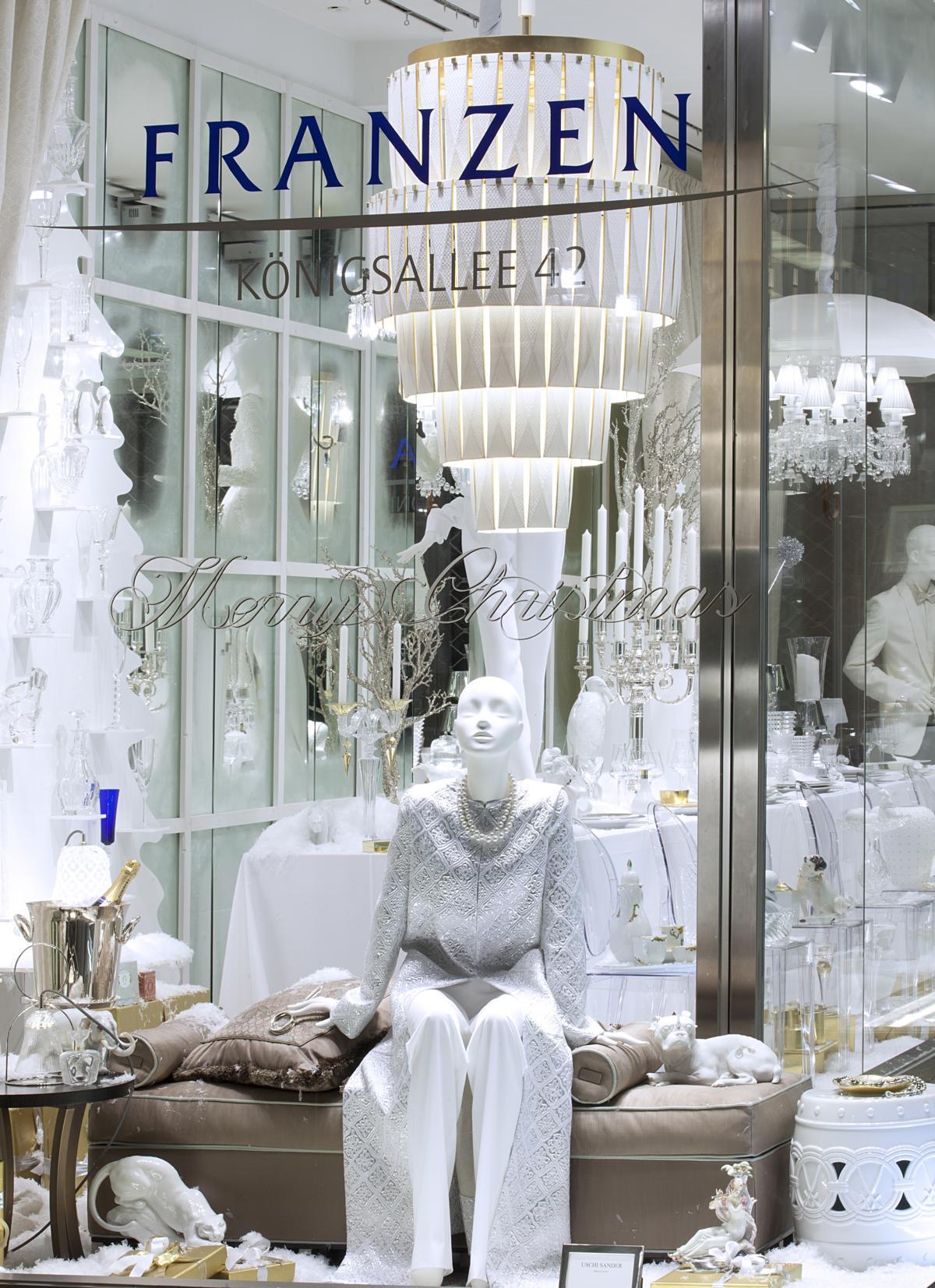 Winter Wonderland Im Luxus Schaufenster Bei Franzen Read