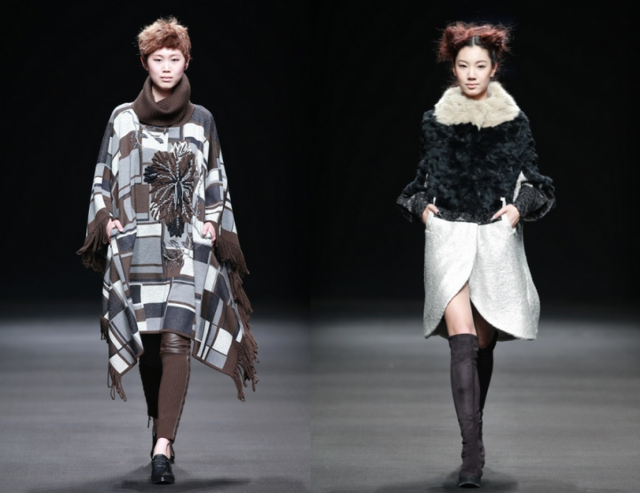 Mercedes-Benz China Fashion Week, Oktober/November 2014 präsentiert – Korean Fashion Designer Joint Kollektion, für Sie