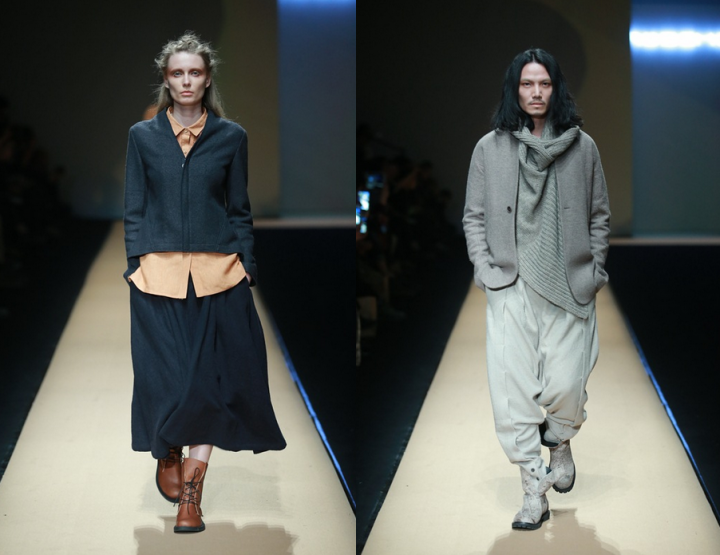 Mercedes-Benz China Fashion Week, October/November 2014 presents – Rosemoo, for men & women, FW 14/15