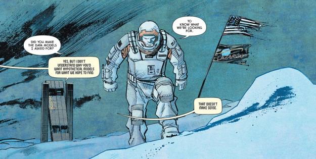 Comictipp: Sean Murphy - Neuer Comic 'Absolute Zero', basierend auf dem Film 'Interstellar'