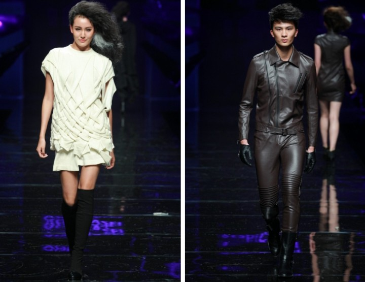 Mercedes-Benz China Fashion Week, Oktober/November 2014 präsentiert – Asahi Kasei 'Gioia Pan' Kollektion, für Sie & Ihn