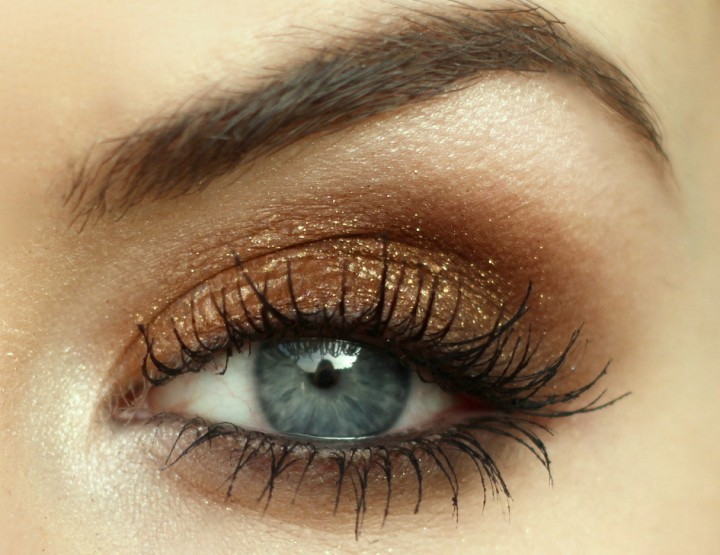 Styling- und Beauty-Tipp Berlin | Bronze Glitter Look