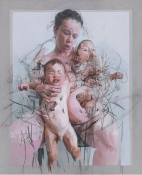 Künstler im Fokus: Jenny Saville - Körperlandschaften & Fleischeslust
