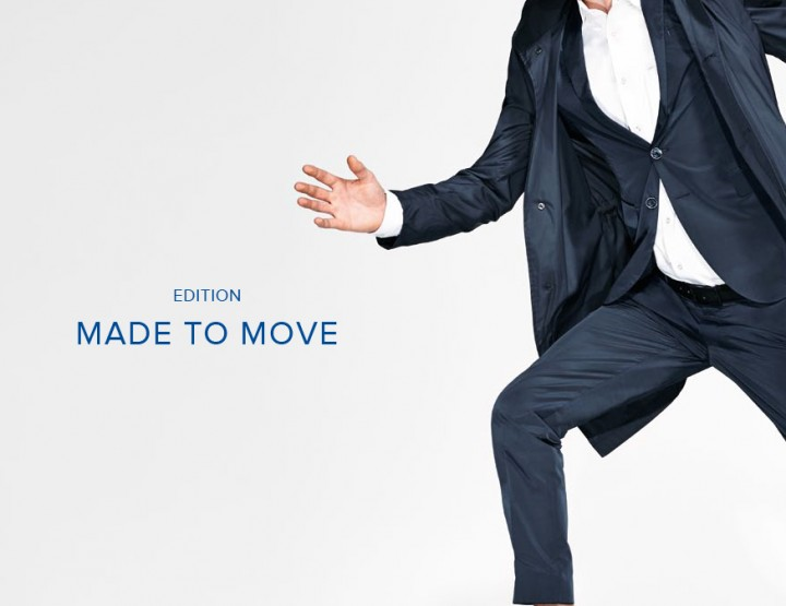 Fashion News: JOOP! Capsule Collection 2015 'Made to Move 2.0' für Ihn