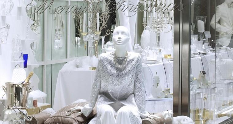 Fashion News 2014: Winter Wonderland im Luxus-Schaufenster bei Franzen