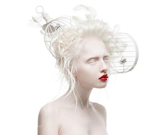 Friday ChitChat | Blasse Schönheiten Teil 1 - Albino Models stürmen die Modewelt!