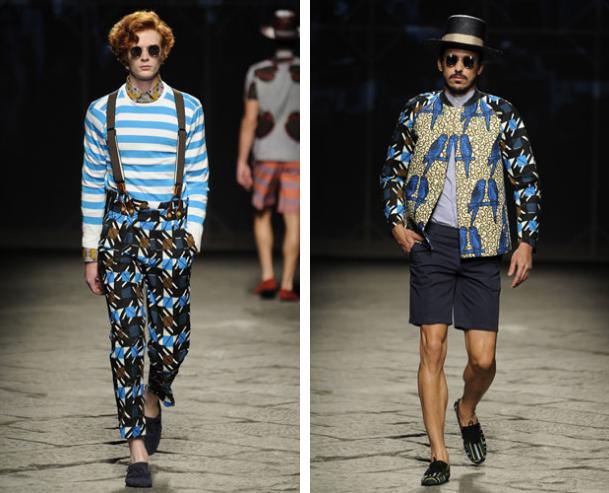 Stella Jean, für Ihn - Fashion News 2014 Frühlings- und Sommerkollektion