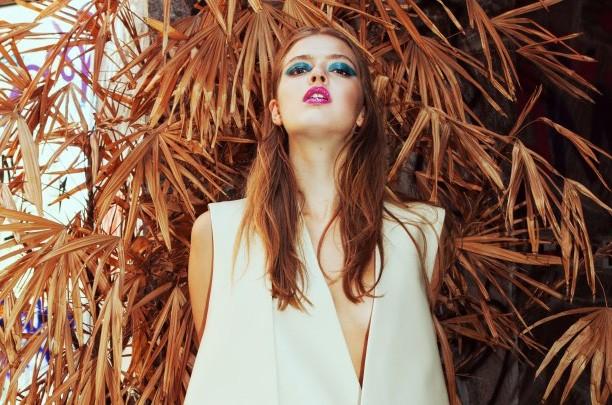 Sessione Pool - designer di moda Stefanie Barz