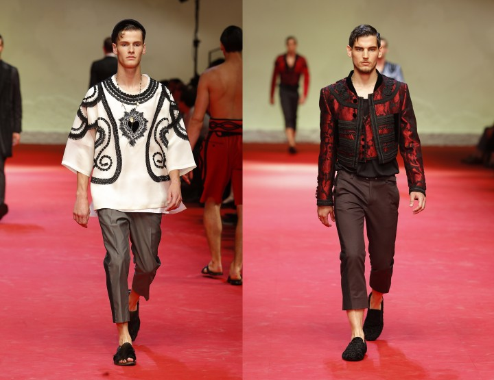 Dolce & Gabbana, per ellu - Fashion News 2015 Primavera è Estate