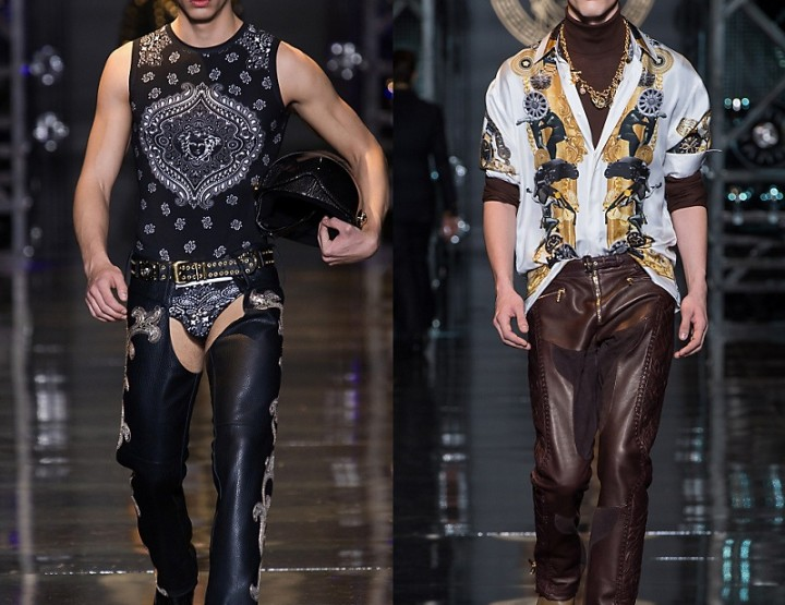 Versace, für Ihn – Fashion News 2015 'Fashion Show Collection'