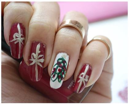 Manicure Monday | NAIL TUTORIAL Weihnachtsedition #Schöne Bescherung!