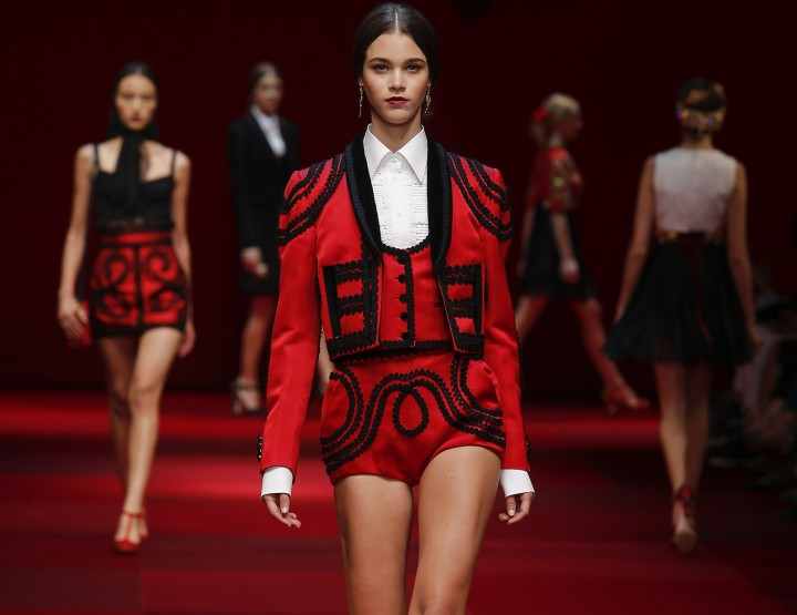Dolce & Gabbana, per voi - Fashion News 2015 Primavera è Estate