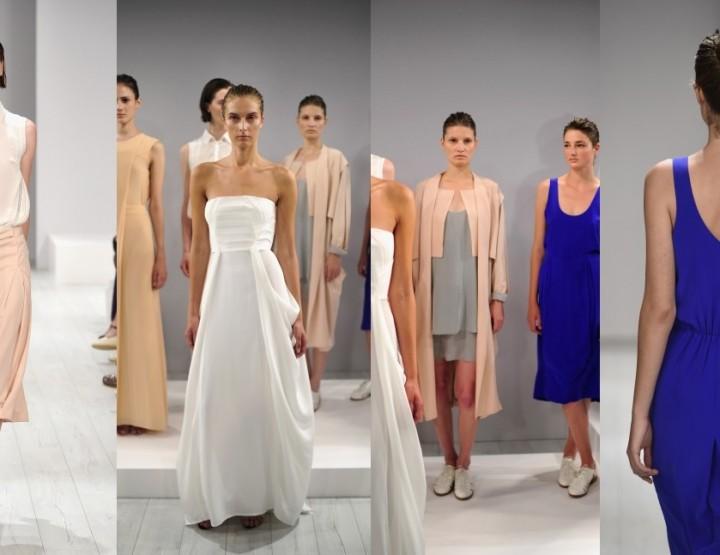 Mercedes-Benz Fashion Week Berlin, Januar 2015 – Isabell de Hillerin, für Sie F/S15
