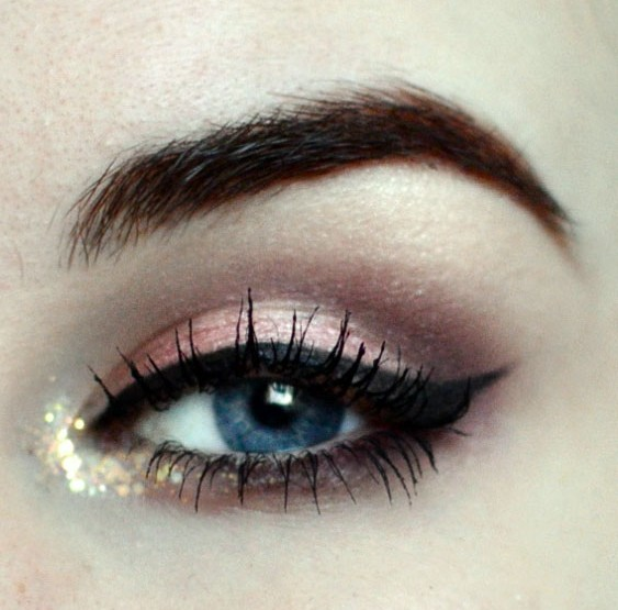 Styling and Beauty Tip Berlin | New Year's Eve Rose&Gold Look