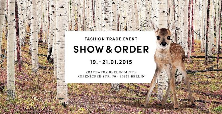 Berlin Fashion Week Januar 2015: 'Show&Order'-Auftakt in der Mutterstadt