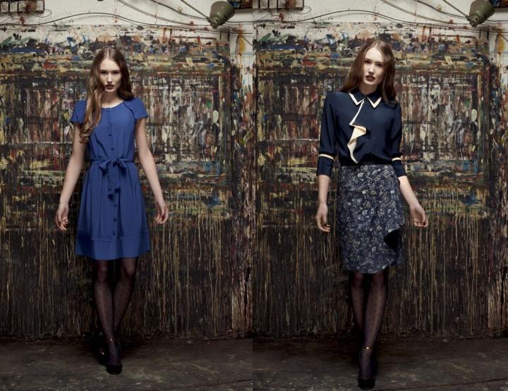 Mercedes-Benz Fashion Days Zurich, November 2014 präsentiert – Van Bery, für Sie Frühjahr & Sommer 2015
