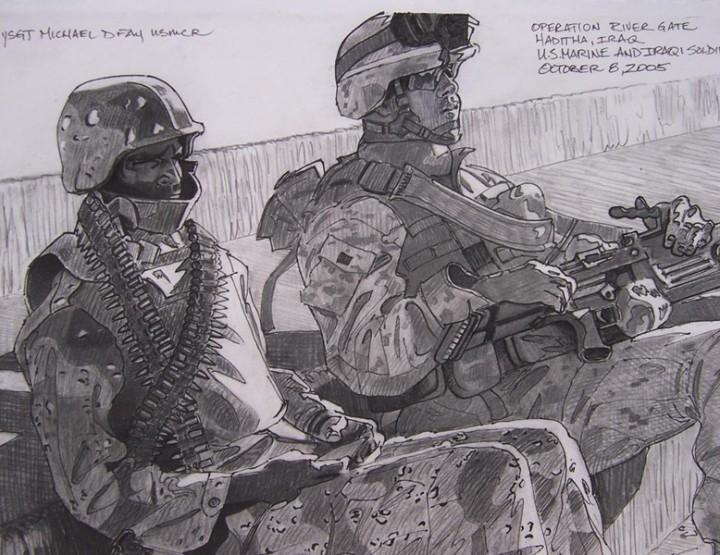 Kunst im Fokus: Die Pinselführer des Krieges - Warpainter