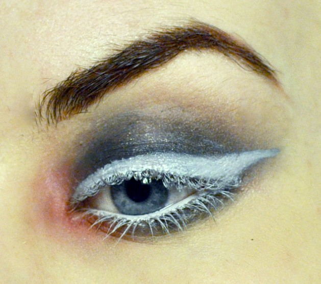 Styling- und Beauty-Tipp Berlin | Weißer Eyeliner Look
