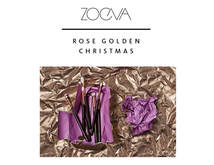 HOT or NOT | Rose Golden Luxury Set - das ultimative Pinselset von Zoeva