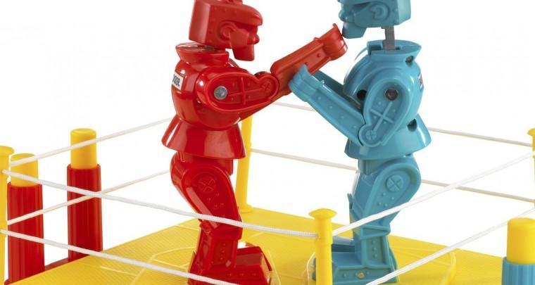 Roboter-Wrestling