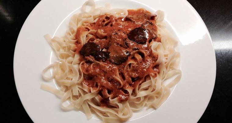 Haute Home Cuisine: Tomaten-Trüffel-Pasta