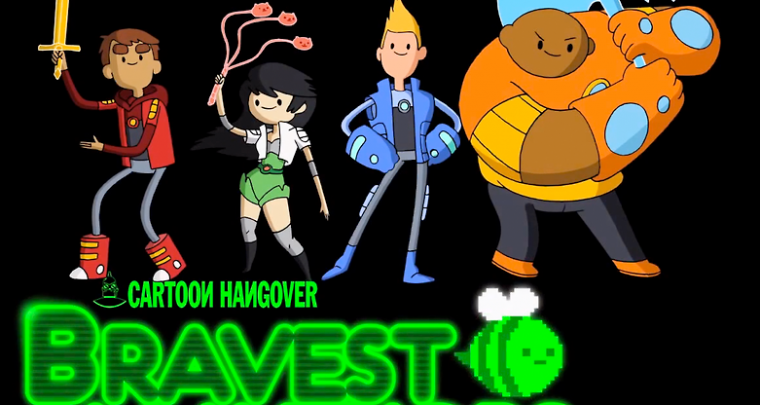 "Cartoons for Grownups - ""Cartoon Hangover"" on Youtube"