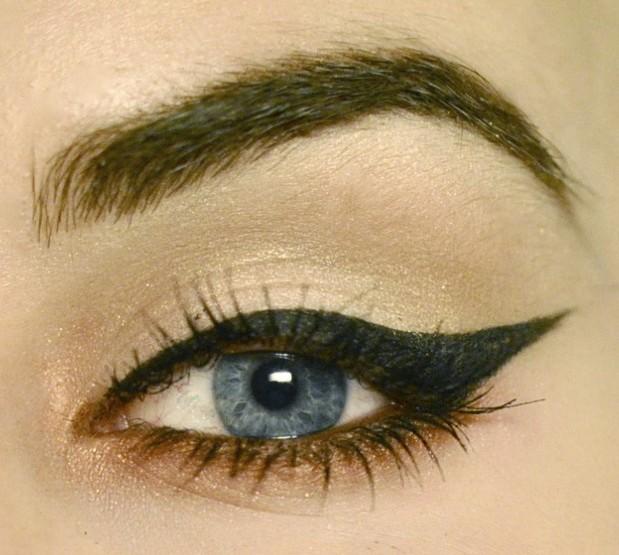 Styling- und Beauty-Tipp Berlin   Easy Copper Cat Eye