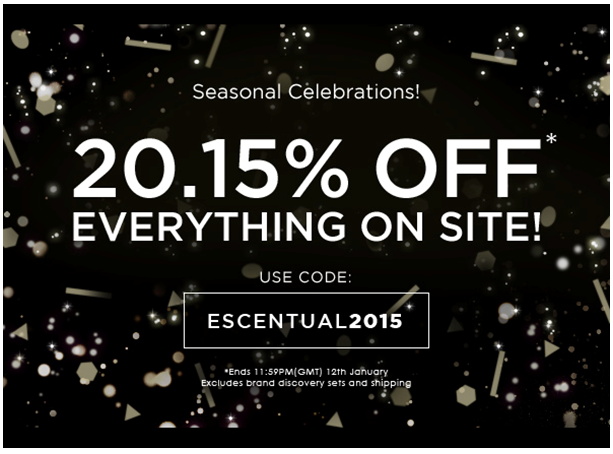 Beauty on a Budget | 20.15% off everything on Escentual.com