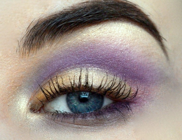 Styling- und Beauty-Tipp Berlin | Golden Lavender Look