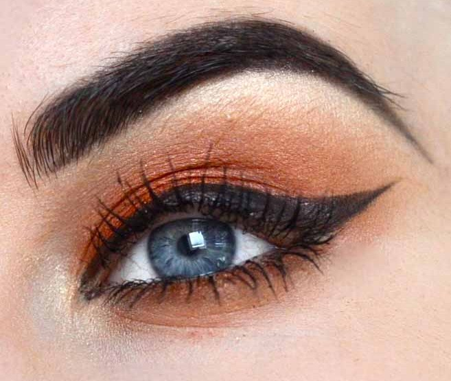 Styling- und Beauty-Tipp Berlin | Orange Bronze Look