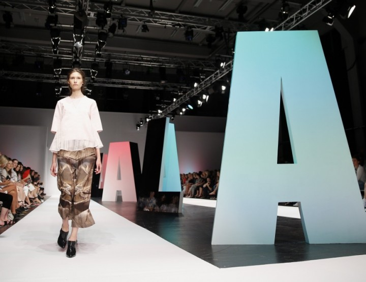 Mercedes-Benz Fashion Week Berlin, Januar 2015 – Lala Berlin, für Sie F/S15