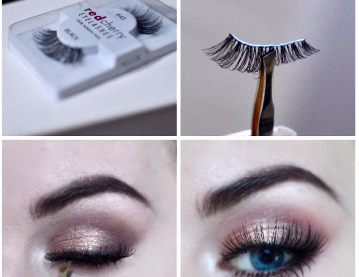 Styling and Beauty Tip Berlin | The best way to put false Lashes on