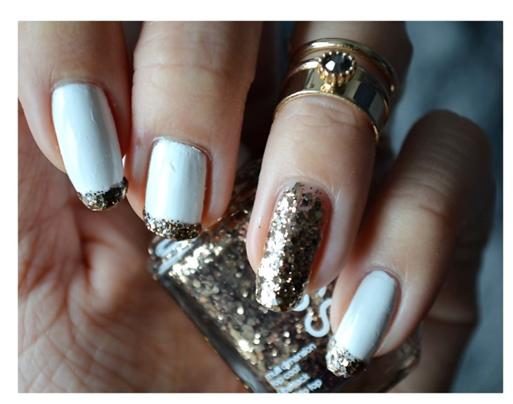 Manicure Monday | NAIL TUTORIAL #Goldener Summit of Style von Essie