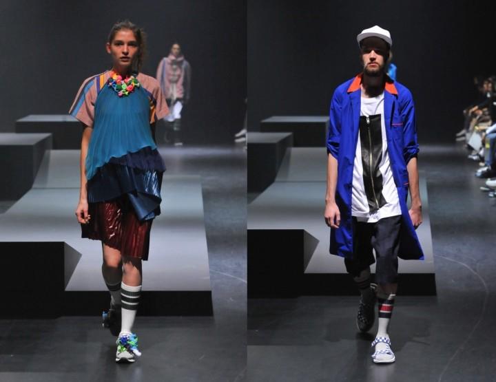 Facetasm, für Sie & Ihn F/S15 - Mercedes-Benz Fashion Week Tokio, März 2015