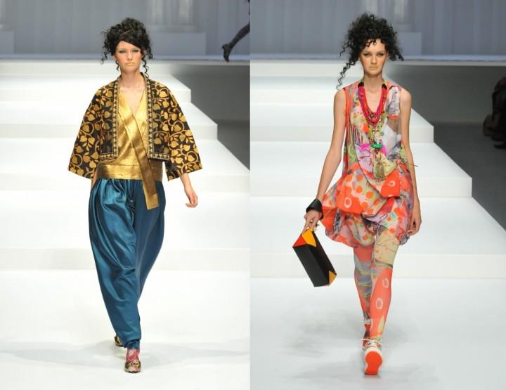 Hiroko Koshino, für Sie - Mercedes-Benz Fashion Week Tokio, März 2015