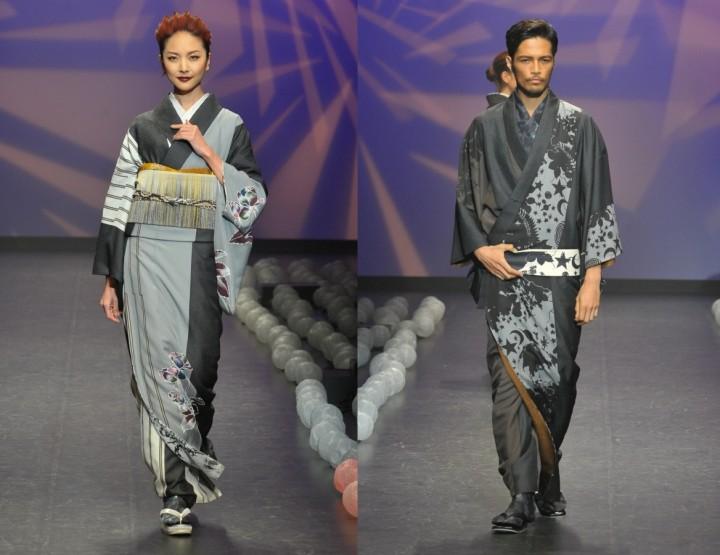 Jotaro Saito, für Sie & Ihn - Mercedes-Benz Fashion Week Tokio, März 2015